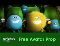 Cricket Wireless Disco Avatar Prop (Spanish version)