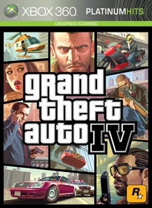 Carátula para el juego Grand Theft Auto: The Ballad of Gay Tony de Xbox 360