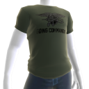Navy Seals Going Commando Tee - Green