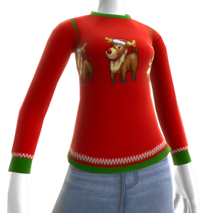 Christmas Ugly Sweater Deer