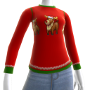 Christmas Ugly Sweater Deer