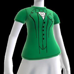 Green Tuxedo T-shirt
