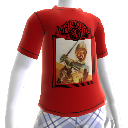 Warlords  Retro Red T- Shirt