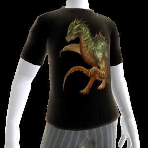 Green Fire Dragon Shirt