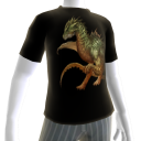 Green Fire Dragon Shirt