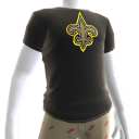Saints Gold Trim Tee