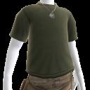 Military Shirt and Dog Tags