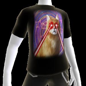 Epic Laser Cat 2 Swirls T-Shirt