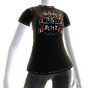 Rock Band Blitz Logo Tee