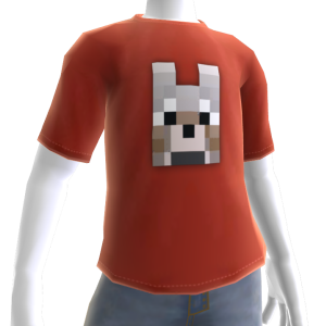 Zahmer-Wolf-T-Shirt