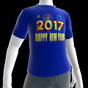 2017 HNY Blue Tee
