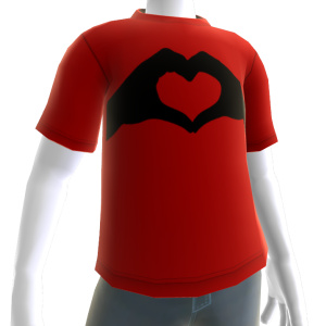 Valentine's - Heart in Hand Red Tee