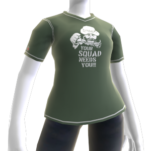 """Camiseta """"Tu equipo te necesita"""""""