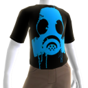 Epic Gas Mask Shirt Blue