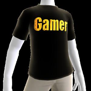 Black Gamer Gold SS Shirt