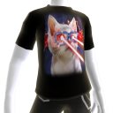 Epic Laser Cat 1 Galaxy T-Shirt