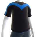 Camiseta logotipo de Nightwing