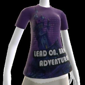 Camiseta do castelo de Dragon´s Lair