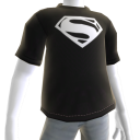 Black-White Man of Steel Tee