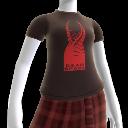 Camiseta de la efigie