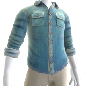 Button Shirt - Light Blue