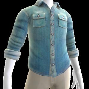 Button Shirt - Light Blue