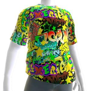 Gamer Graffiti Tee
