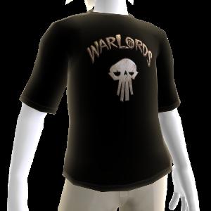 Warlords Black Skull Tee