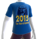 2015 Year of Gaming Blue Tee