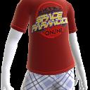 Camiseta de Paranoicos del Espacio