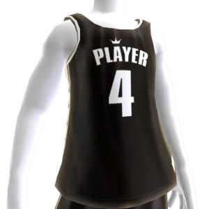 KKZ Black and White Player 4 Jersey