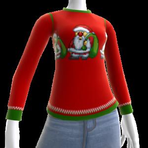 Christmas Ugly Sweater Santa