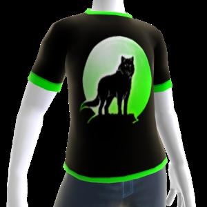 Green Wolf Howl Shirt 2 GT