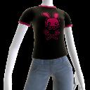 Camiseta con Calavera de Rabbid