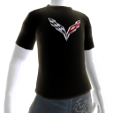 GM Corvette Black Tee