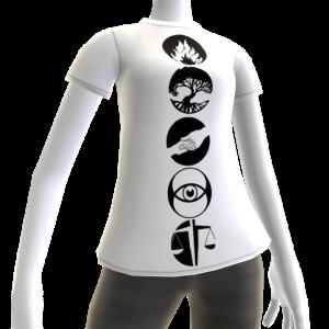 Divergent female t-shirt