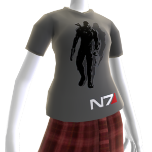 Mass Effect 3 Grey Better with Kinect Shirt