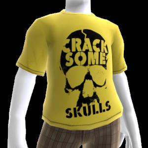 """Camiseta """"Crack Some Skulls"""""""