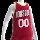 1993-1995 Rockets Jersey