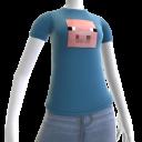 T-shirt cochon