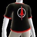 Camiseta de lanza Carmesí