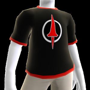 Koszulka w stylu Karmazynowej Lancy