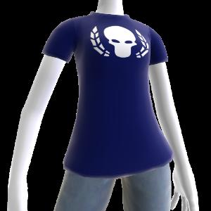 Ultramarines Wreathed Skull Shirt