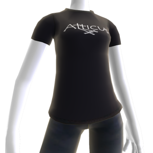 Atticus Double Cross Black t-shirt