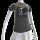 Epic Horror Skull Gray T-Shirt