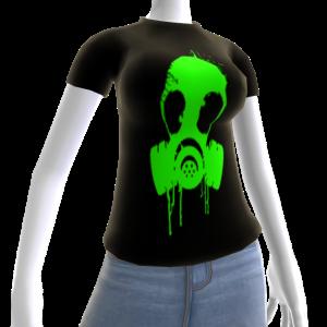 Epic Gas Mask Shirt Green