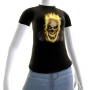 Epic Horror Skull 15 T-Shirt