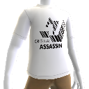"Hitman: Absolution Camiseta Branca ""Original Assassin"""