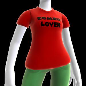 Camiseta de zombis