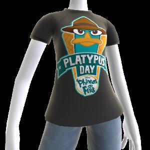 Camiseta del día del ornitorrinco